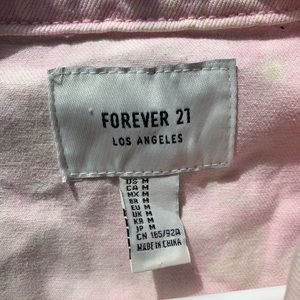 Forever 21 Jackets & Coats - Pink jean jacket